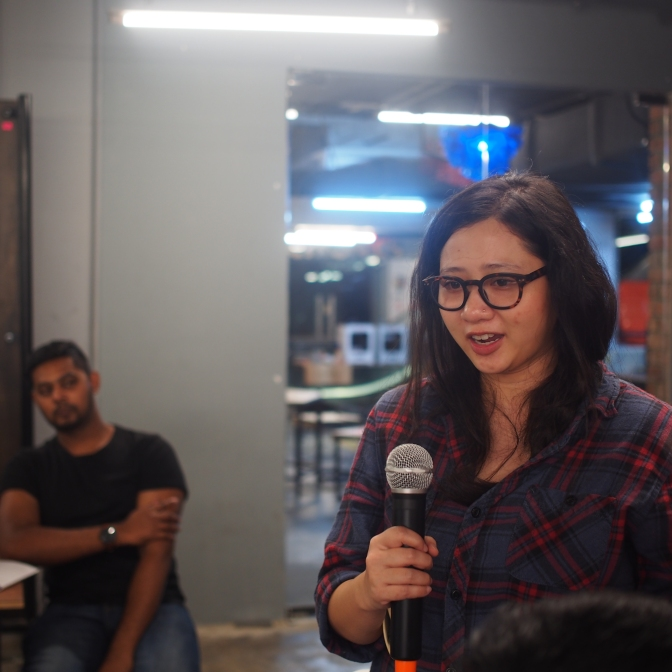 In our sharing session, Design Thinkers talk about what grabbed their attention the most.